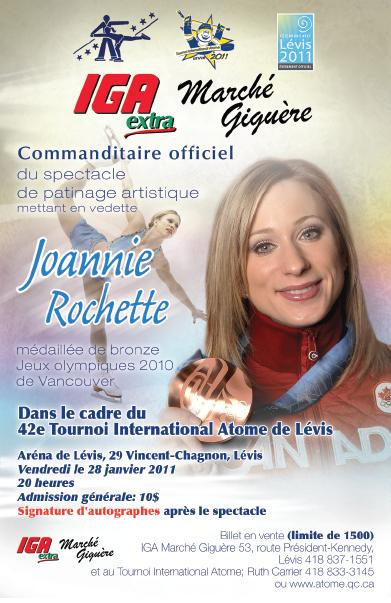 Spectacle Joannie Rochette